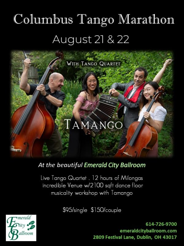 live tango orchestra, Tamango, 12 hours of Milonga